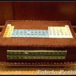 Tabela Periódica no bolo