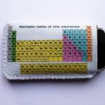 Tabela Periódica na capa do celular