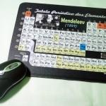 Tabela Periódica no mousepad