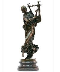 Estatueta de bronze