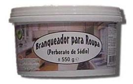 Branqueador contendo perborato de sódio