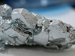 Arseneto de gálio, usado na fabricação de semicondutores