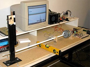 Sismógrafo, aparelho que utiliza radônio